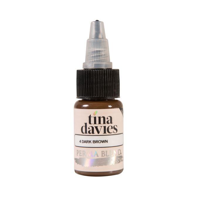 Perma Blend Tina Davies Pigment - Dark Brown/brun foncé (15ml)