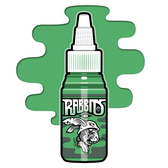 Encre Rabbits Ink - Andre Amhäuser's Mid Green (35ml)