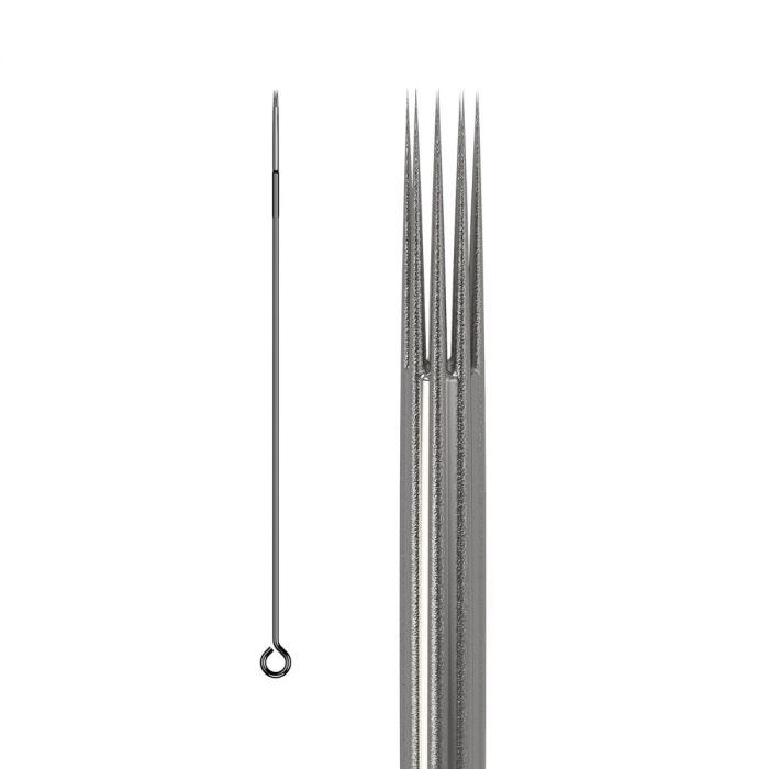 Boite de 50 aiguilles KWADRON 0,35mm LONG TAPER - BUGPIN (Texturées) - Round Shader