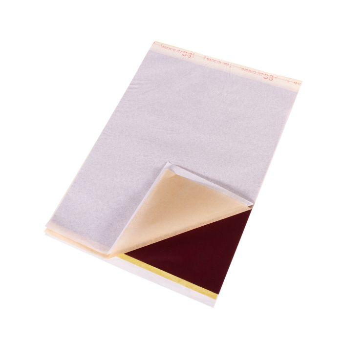 S8 Red - Papier pour stencils de tatouage x 100 feuilles (21,6 x 27,9cm)