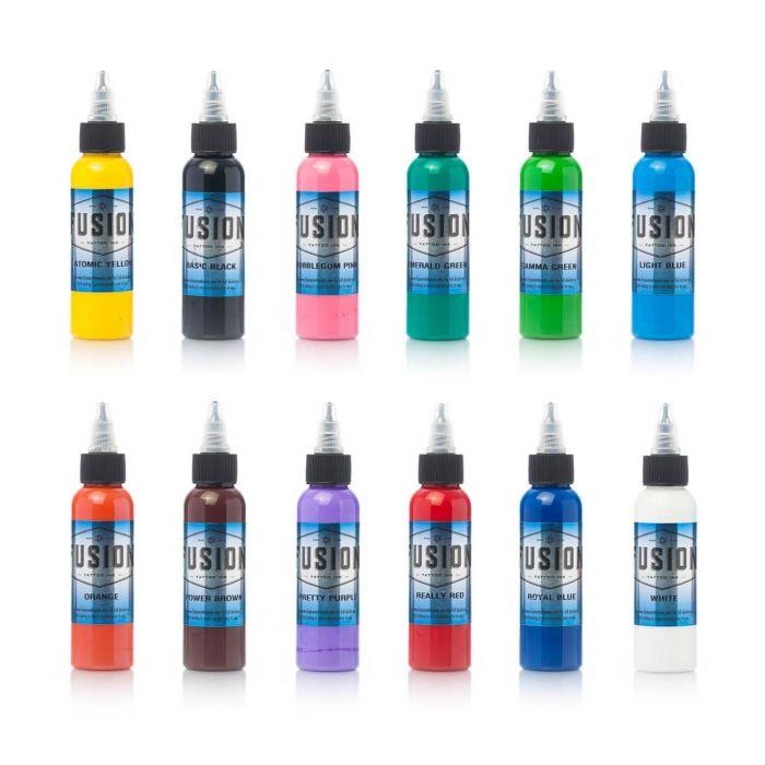 Encre Fusion Ink - Set complet 12 Encres