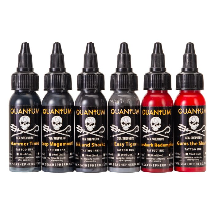 Set Complet de 6 Encres Sea Shepherd Shark Set 30ml (1oz)