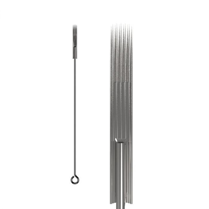 Boite de 50 aiguilles KWADRON 0,35mm LONG TAPER - BUGPIN (Texturées) - Magnum Soft Edge