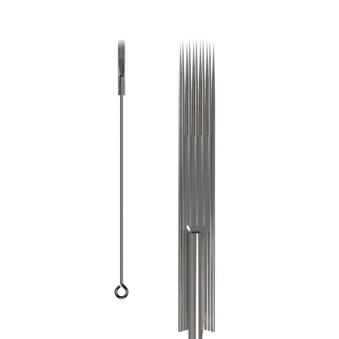 Boite de 50 aiguilles KWADRON 0,35mm LONG TAPER - Magnum Soft Edge