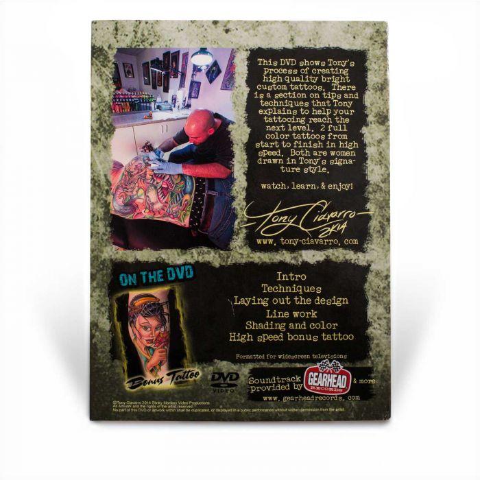 DVD Shut up and Draw Volume 2 - Tony Ciavarro (Editions Stinky Monkey)