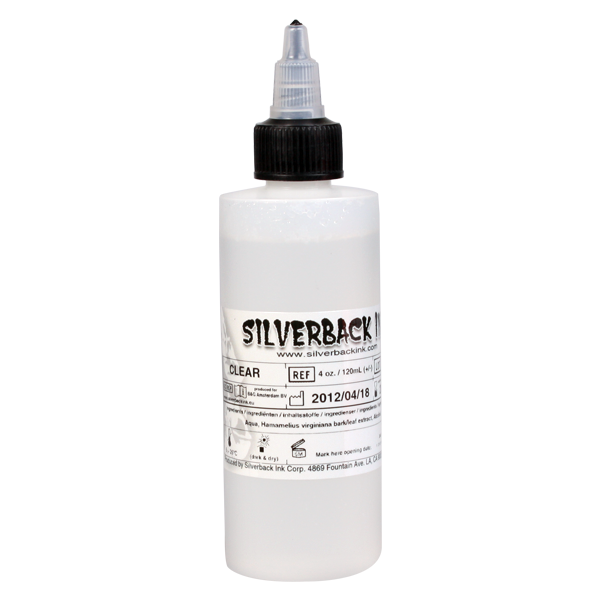 Silverback Ink® - Solution diluante XXX Clear (120ml)