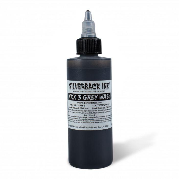 Encre Silverback Ink® - XXX Greywash 3 (120ml)