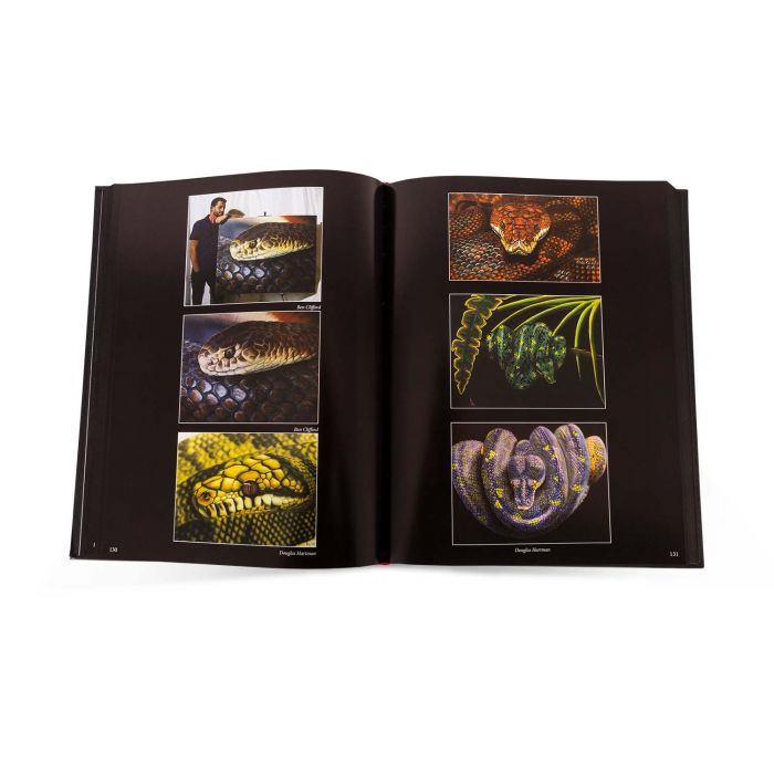 Slithers and Scales of Inspiration: The Reptile Art Project - Livre sur les Reptiles (Out of Step Books)