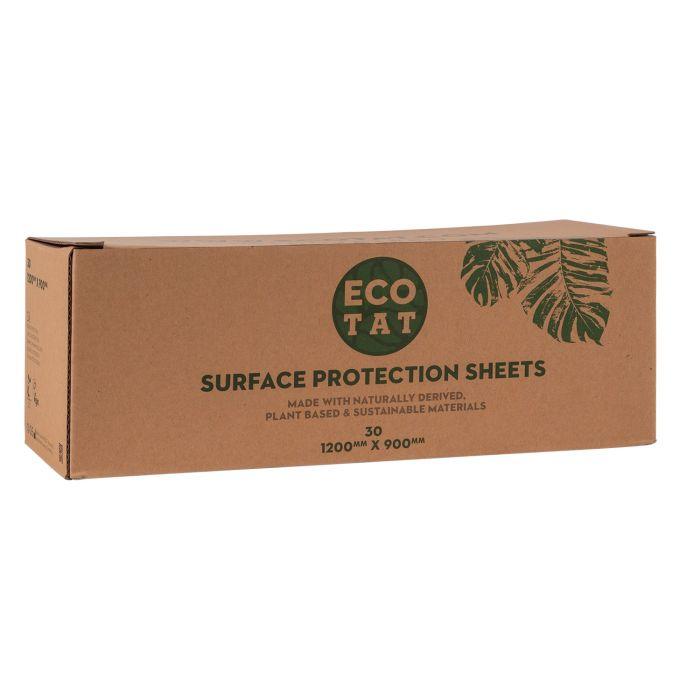 Boite de 30 toiles de protection pour surfaces ECOTAT  1200mm x 900mm
