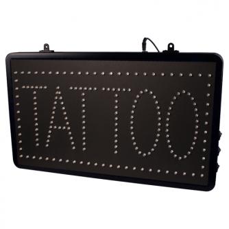 Enseigne LED à Suspendre pour Studios - TATTOO