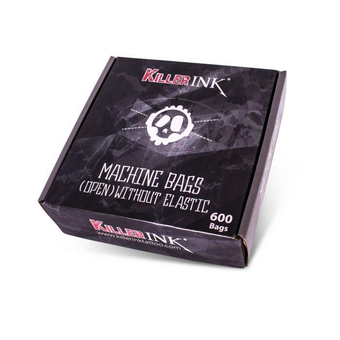 Killer Ink - Boite de 600 Gaines de Protection (ouvertes & sans élastiques) pour Machines à Tatouer