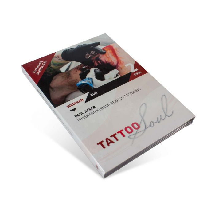 DVD TattooSoul - Paul Acker