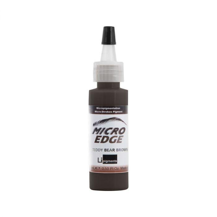 Li Pigments Micro Edge Couleur Sourcil - Teddy Bear Brown 15 ml
