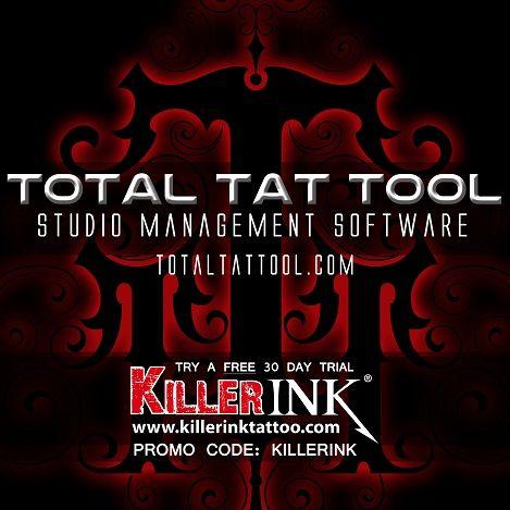 Total Tat Tool - Logiciel de Gestion pour Salon de Tatouage (30 Jours d'Essai)
