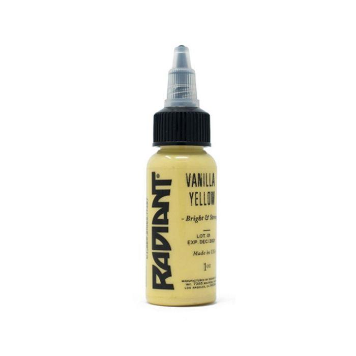 Radiant Colors Pastel Vanilla Yellow 30ml