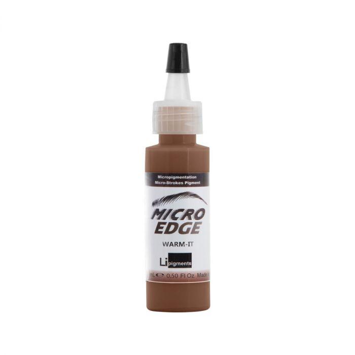 Li Pigments Micro Edge Modificateur Couleur Sourcil - Warm It! 15 ml