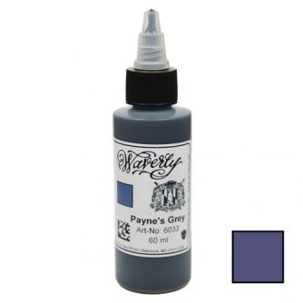Encre WAVERLY Color Company - Payne's Grey (60ml)