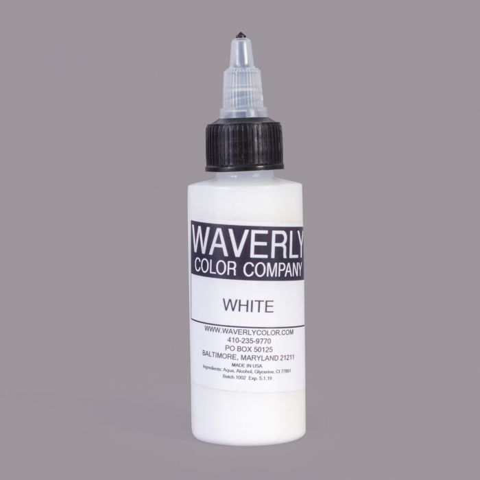 Encre WAVERLY Color Company - White (60ml)
