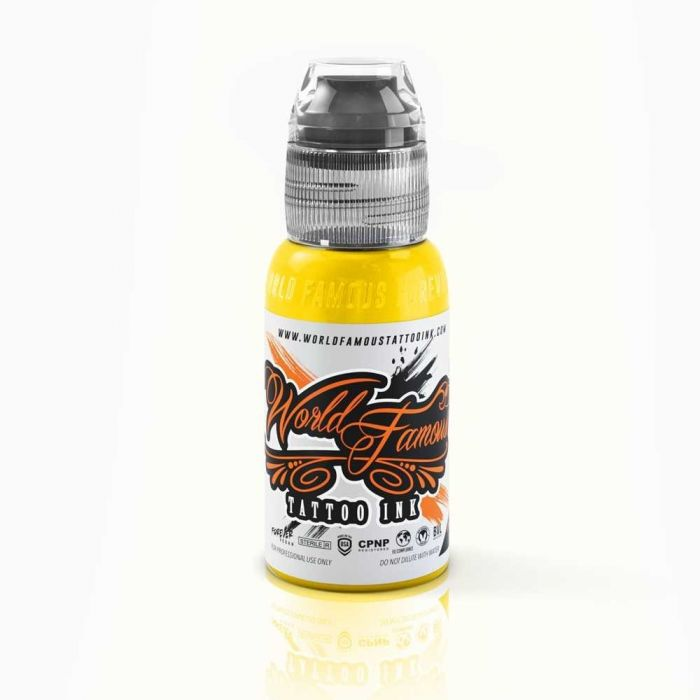 Encre World Famous Ink Canary Yellow 30ml (1oz)
