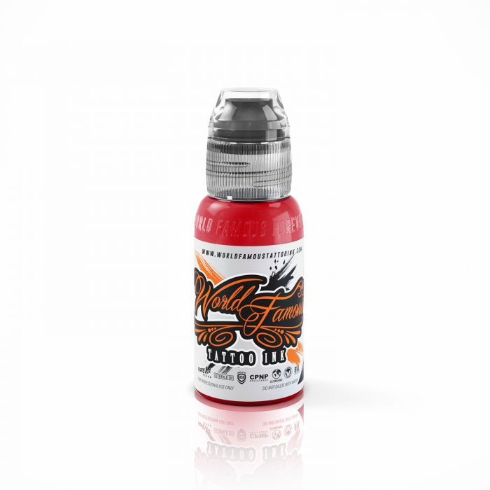 Encre World Famous Ink - Master Mike - Demon Red (30ml)
