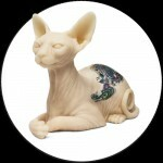 Chat Sphynx & Inkenstein en Silicone Tatouable